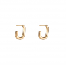 Dimension Earring Gold