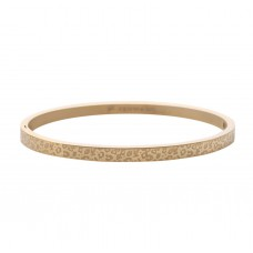 Classic leopard armband goud